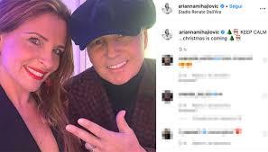 Sinisa Mihajlovic sorride con Arianna Rapaccioni su ...