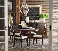 Highlands Round Dining Table by Bassett Furniture Contemporary