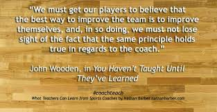 John Wooden Leadership Quotes Adorable The Next Generation Of Educational Leadership John Wooden's Wisdom