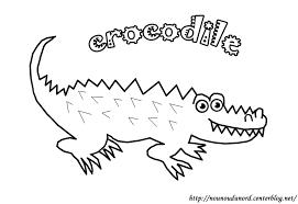 109 Dessins De Coloriage Crocodile Imprimer