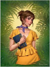 Modern Jane Porter 📘🍃 [Credit: Fernanda... - Best of Disney Art   Facebook