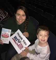 madison square garden company wendy attended rudolph the red nose reindeer the al on dec 14th 2016 via vettix