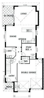 decoration basic rectangular house plans simple 4 bedroom home decor large size two story design with