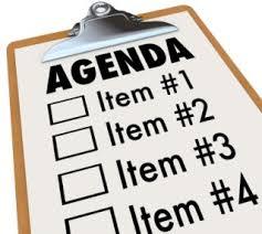 Agenda List Agenda Check List Plannersweb