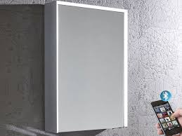 Illuminated Bluetooth Bathroom Mirror Cabinet Roper Rhodes