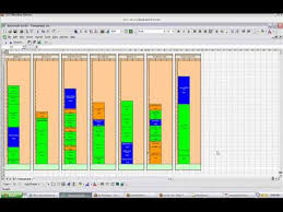 Excel Timeline Template Download Yamazumi Chart Template Xls