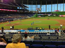 Marlins Stadium Seating Chart Miami Marlins Seating Guide Marlins Park Rateyourseats Com