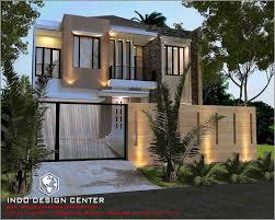 rumah minimalis 2 lantai modern jasa desain arsitek gambar rumah