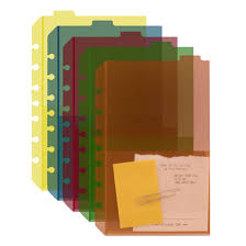 Classic Tabbed Divider Pockets Set Of 5 Franklincovey