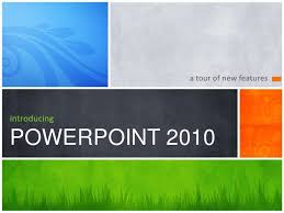 Introducing Ppt 2010