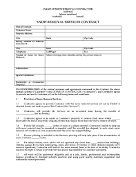 business services template 25 printable business contract template forms fillable