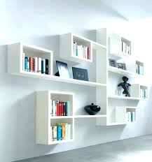 ikeas kitchen wall storage system cube shelves with doors floating white stained con