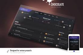 <b>Chocolate</b> - Dark <b>Themes</b> - Invision Community
