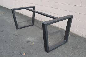 industrial style outdoor furniture. Custom Made Industrial Style Steel Table Base Outdoor Furniture O
