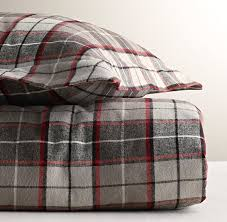 plaid flannel duvet cover throughout ideas 3