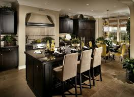 cooker hood on the stove white marble on countertop rustic contemporary kitchen design beautiful chandelier over