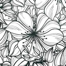 Big Flower Coloring Pages Big Coloring Pages Of Flowers Big Flower