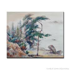 Original 100% Hand painted Beautiful Shan Shui Paintings High Q. Home  Decoration Modern Chinese Landscape Oil Painting On Canvas-in Painting &  Calligraphy ...