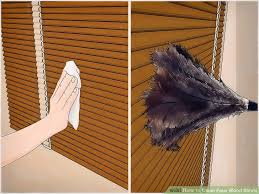 image titled clean faux wood blinds step 1