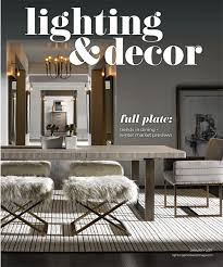 lighting decor magazine january 2018
