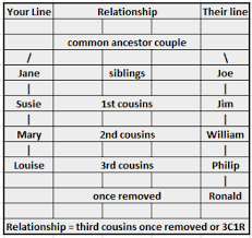 Quick Tip Calculating Cousin Relationships Easily
