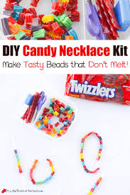 diy candy necklace kits for kids a little pinch of perfect