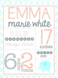Baby Girl Birth Announcements Template Free Baby Birth Announcement Template Make Your Own Birth Announcements