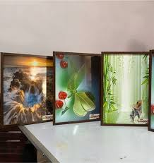 rectangle wooden wall decor panels for