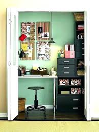 home office closet organizer. Closet Desk Ideas Office In A Craft Organizer Home