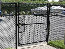 Metal chain fence gate Install Black Chain Link Fence Gates Chain Link Fence Chain Link Fence Gate Types And Installation