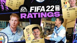 FIFA 22: Manchester City Official Ratings Revealed