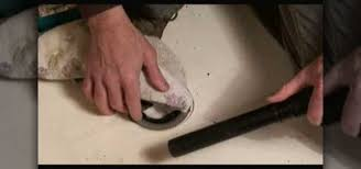 how to remove a fiberglass shower pan construction repair wonderhowto