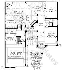 casa asoleada house plan 06271 1st floor plan