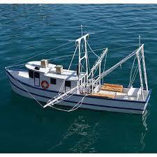 dumas rusty the shrimp boat kit 36 rc wooden scale powered boat kit 1271