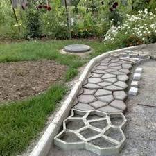 1pc diy garden walk mould make driveway