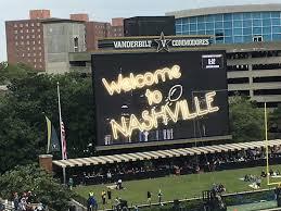 Small Scoreboard Picture Of Vanderbilt Stadium Nashville