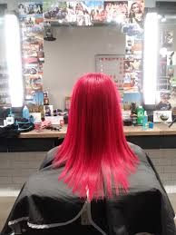 we absolutely adore what expert hair stylist ashley fillip did with her locks the vibrant red is the perfect hair color for a powerful fearless female