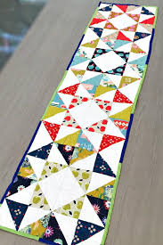 Best 25+ Quilt table runners ideas on Pinterest | Quilted table ... & Charm Pack Modern Table Runner Adamdwight.com