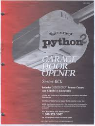 python 2 garage door openerPython 2 Garage Door Opener Troubleshooting  Wageuzi