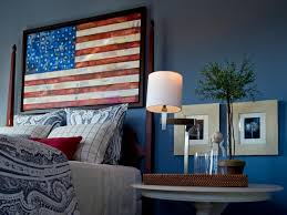 Americana Themed Bedroom
