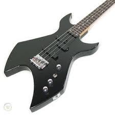 Wesley Black Taranis Stealth Electric Bass Guitar | #219257279