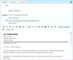 How To Send Resume Mail Format 15 Fresh How To Send Resume By Email