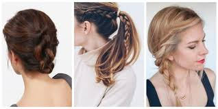 Hair Style Pinterest the 10 easiest summer hair ideas easy summer hairstyles 2868 by wearticles.com