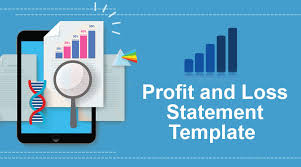Monthly Profit And Loss Statement Template Profit Loss Statement Template Annual Monthly P L