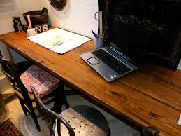 reclaimed wood office. Image By: Antique Building Materials Inc Reclaimed Wood Office
