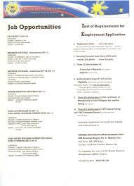 Bir Calls For Career Officers In Makati City Job Openings