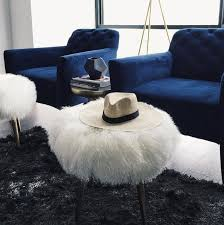 who makes west elm furniture. take your space from drab to fab with these glamorous mongolian fur stools covered in who makes west elm furniture