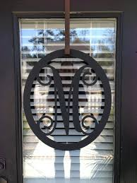 front door monogramFront Door Wall Wooden Monogram Single Letter Letters Front Door