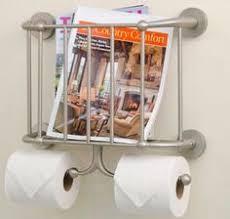 Toilet Roll Holder Magazine Rack Magazine Racks For Bathrooms Toilet Roll Tower Paper Holder 3
