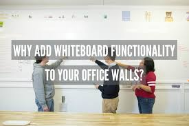 why add whiteboard functionality to your office walls